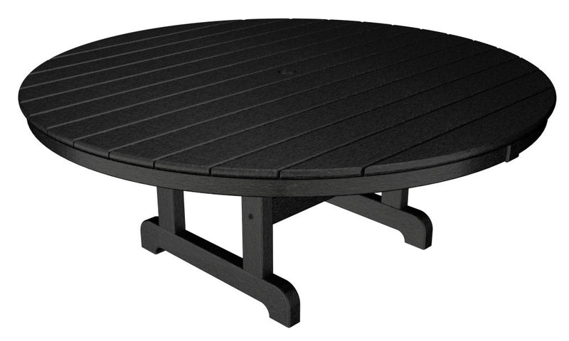RCT248BL Round 48inch Conversation Table in Black