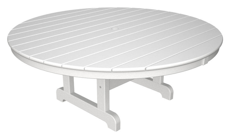 RCT248WH Round 48inch Conversation Table in White