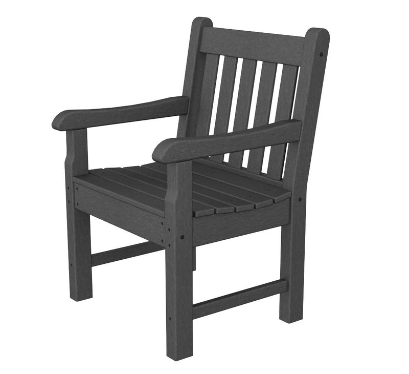 RKB24GY Rockford Garden Arm Chair in Slate Grey