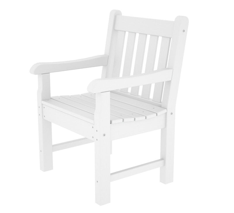 RKB24WH Rockford Garden Arm Chair in White