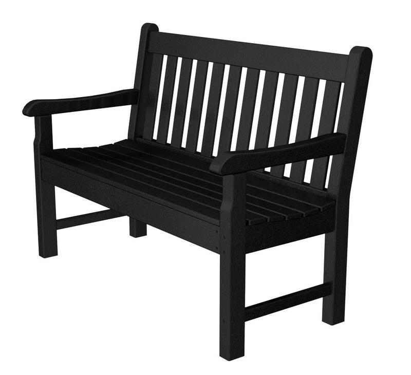 RKB48BL Rockford 48inch Bench in Black