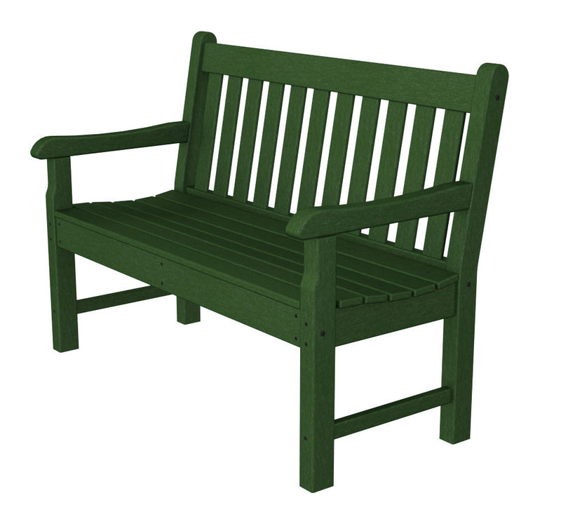 RKB48GR Rockford 48inch Bench in Green