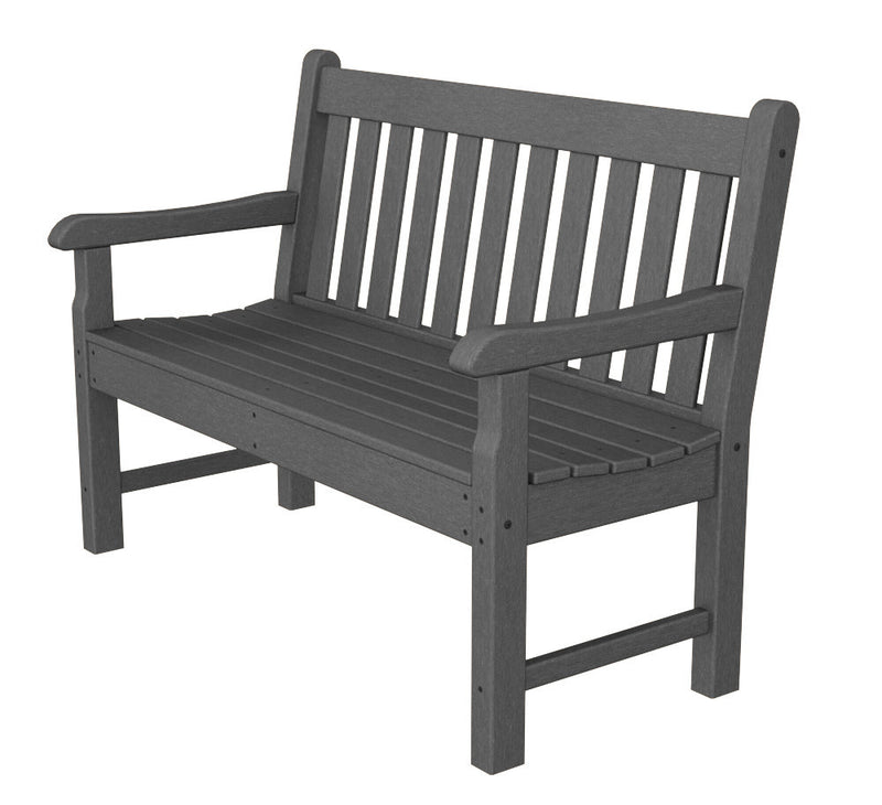 RKB48GY Rockford 48inch Bench in Slate Grey