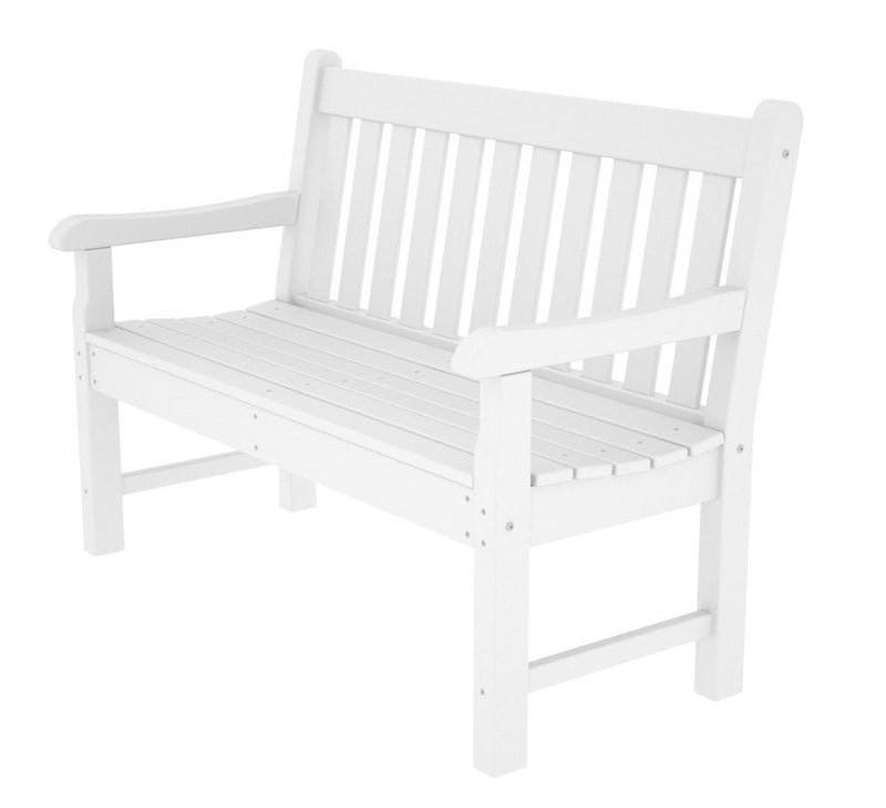RKB48WH Rockford 48inch Bench in White