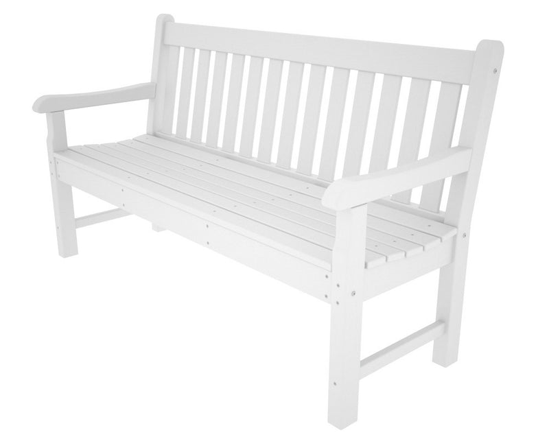 RKB60WH Rockford 60inch Bench in White