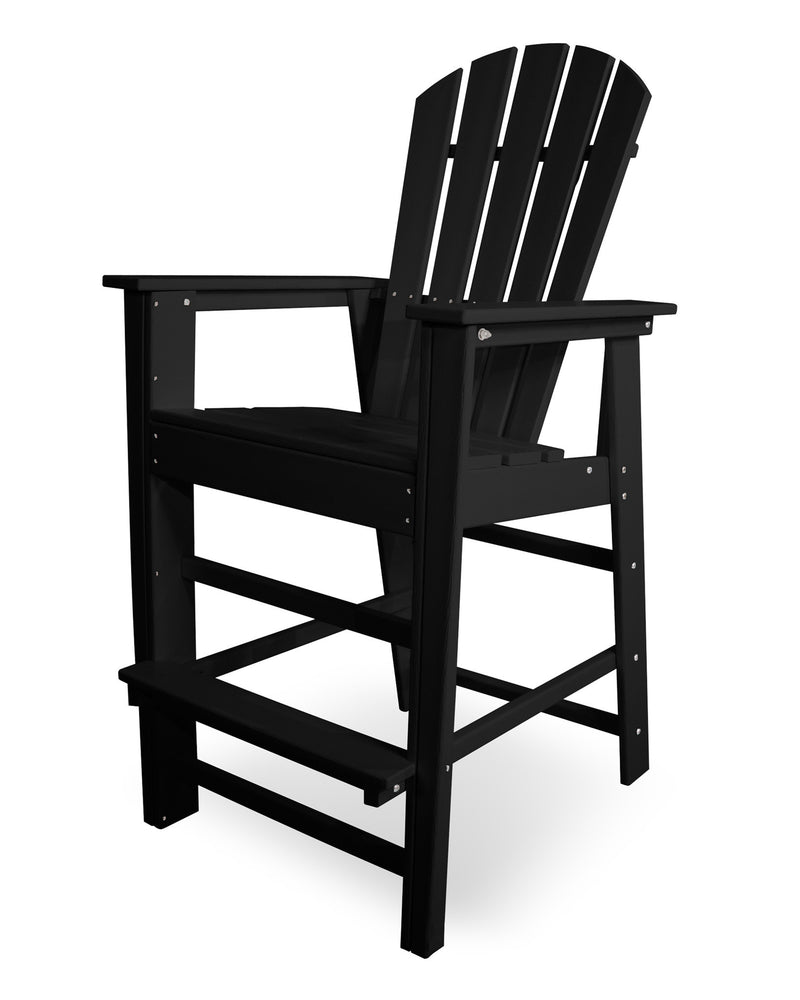 SBD30BL South Beach Bar Chair in Black