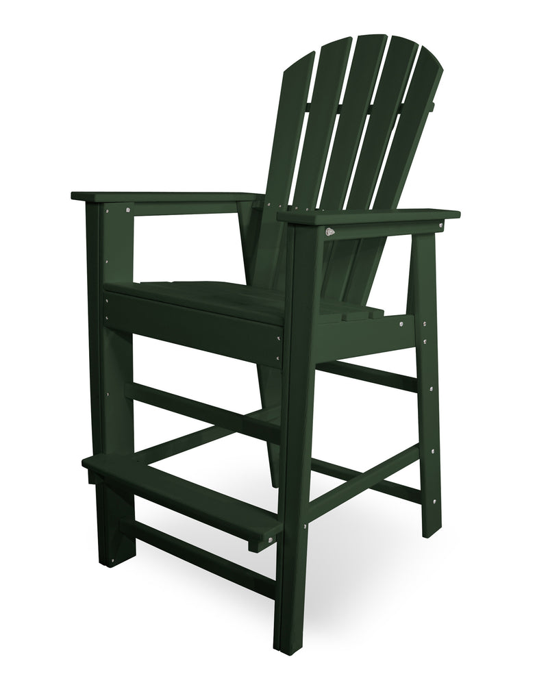SBD30GR South Beach Bar Chair in Green