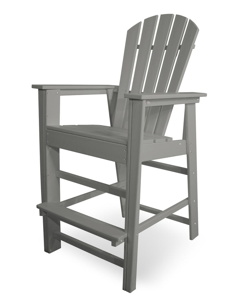 SBD30GY South Beach Bar Chair in Slate Grey
