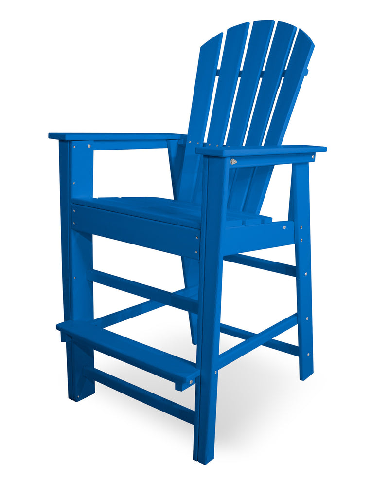 SBD30PB South Beach Bar Chair in Pacific Blue