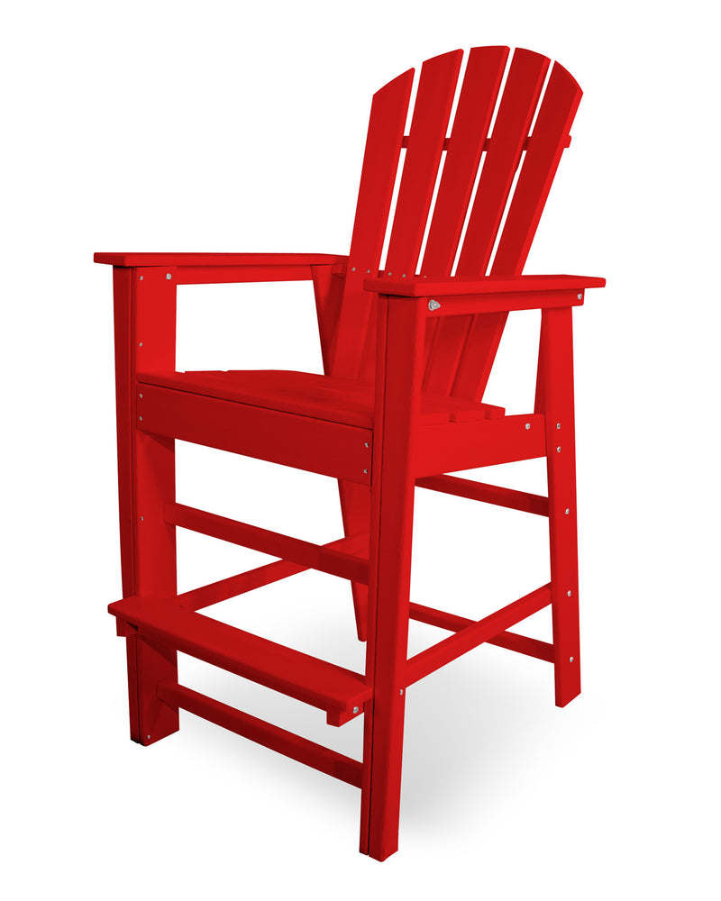 SBD30SR South Beach Bar Chair in Sunset Red
