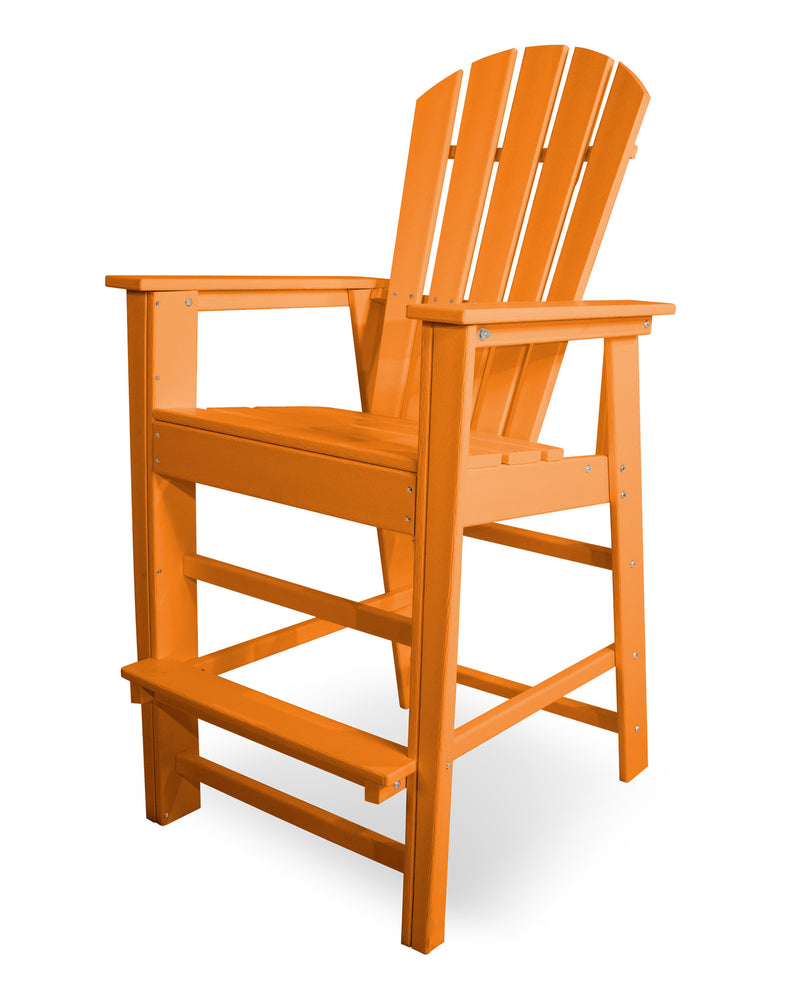 SBD30TA South Beach Bar Chair in Tangerine