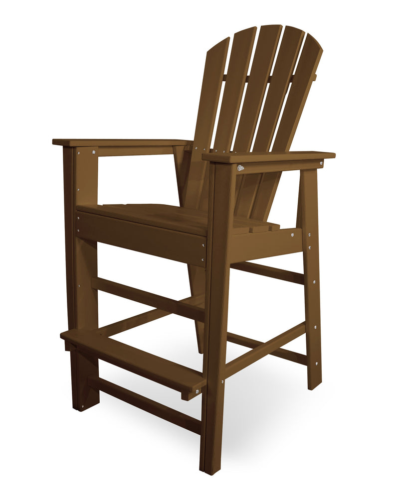 SBD30TE South Beach Bar Chair in Teak