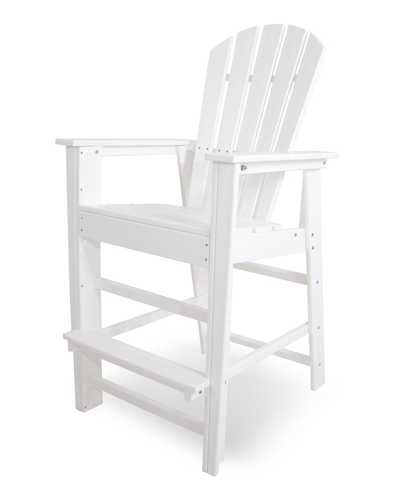 SBD30WH South Beach Bar Chair in White