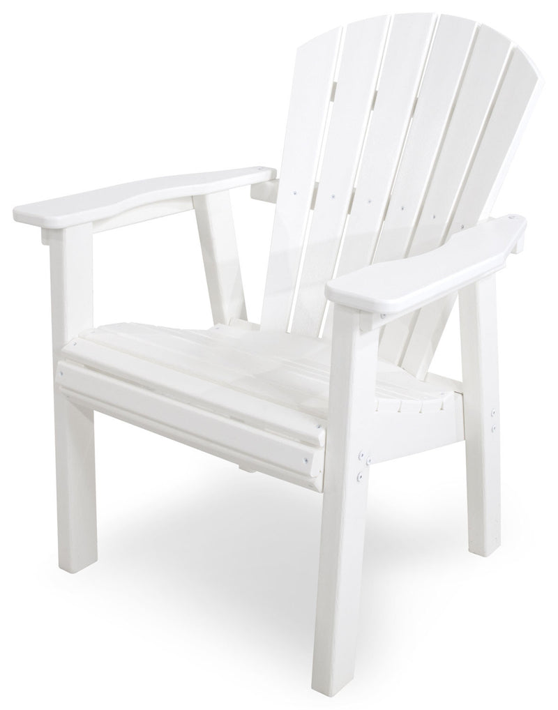 SHD19WH Seashell Casual Chair in White