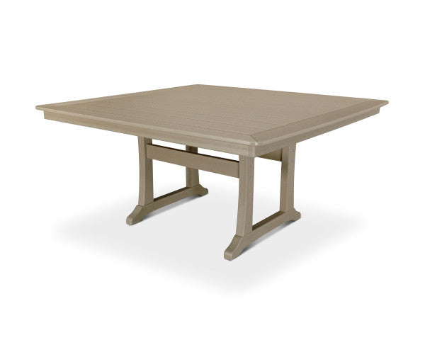 "Nautical Trestle 59"" Dining Table"