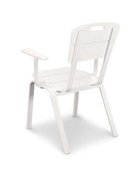 Nautic Cafe Dining Arm Chair