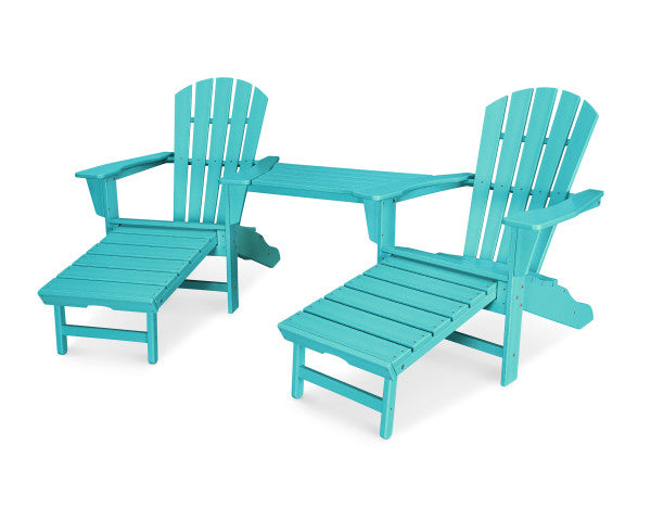 Palm Coast Ultimate Adirondack Tete-A-Tete Set