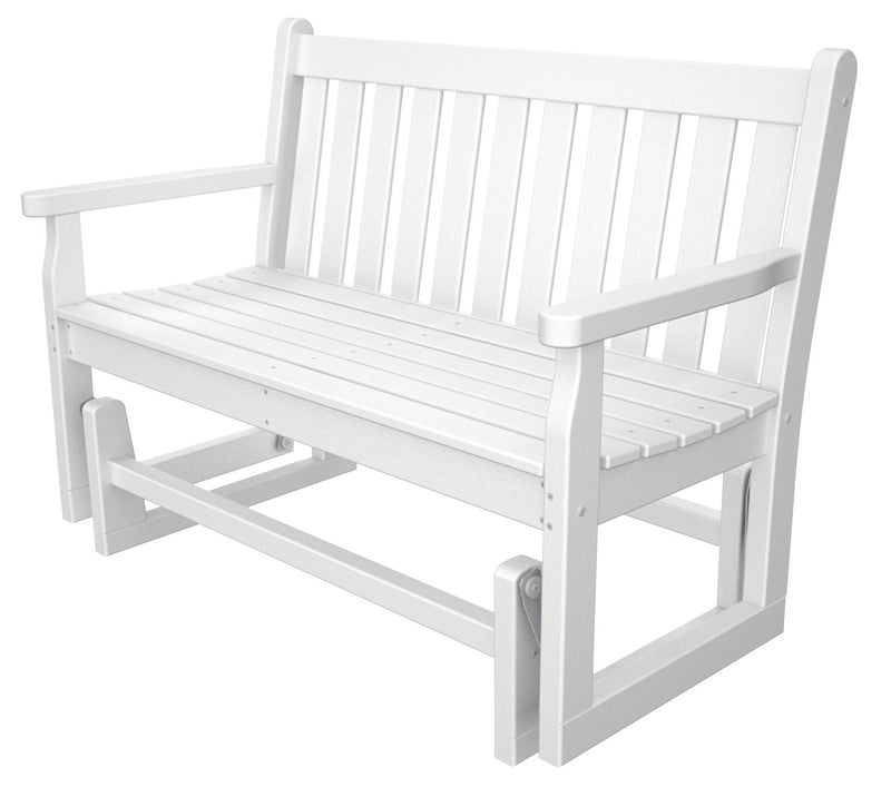 TGG48WH Traditional Garden 48inch Glider in White