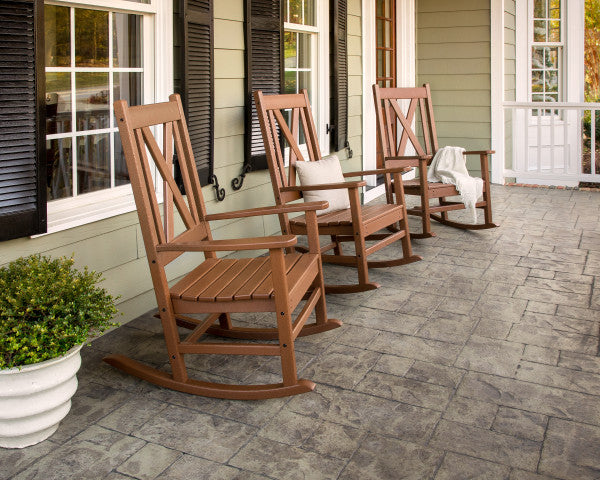 Braxton Porch Rocking Chair - Vintage Finish