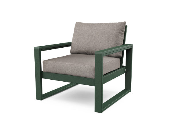 Edge Club Chair - Classic Finish