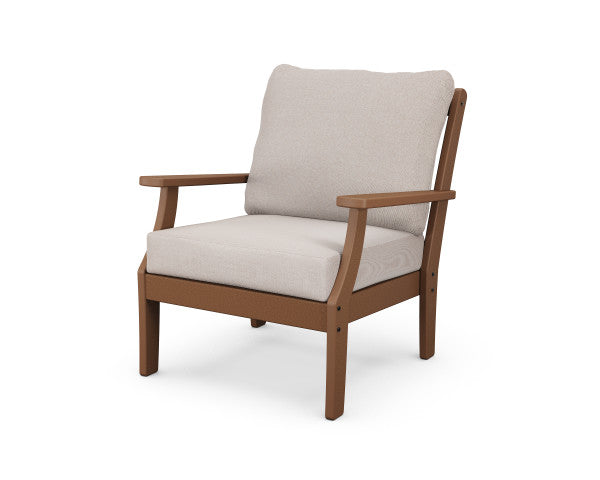 Braxton Deep Seating Chair - Classic Finish