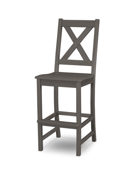 Braxton Bar Side Chair - Vintage Finish
