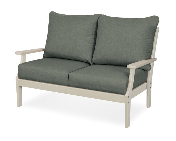 Braxton Deep Seating Settee - Classic Finish