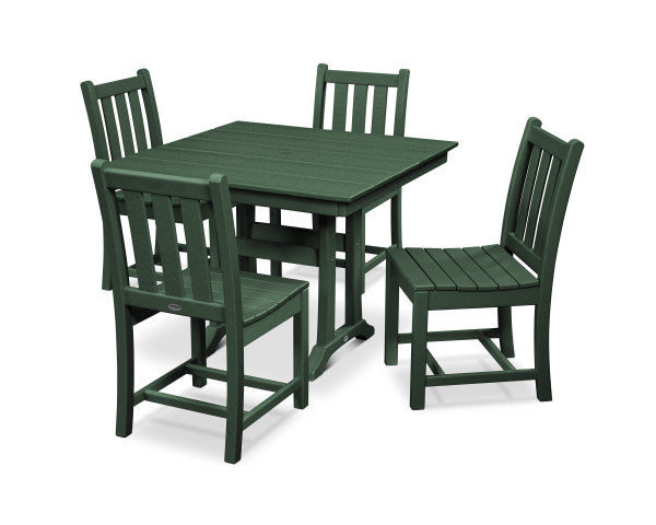 Traditional Garden 5 Piece Dining Set