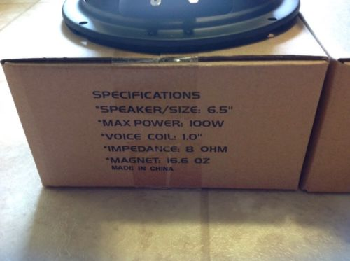 ONE 6 5'' Home Audio Speaker SubWoofer 8ohm Driver DJ PA 100W woofer  replacement