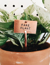 Fake Plant Plant Marker Stake