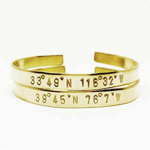 Personalized Handstamped Cuff