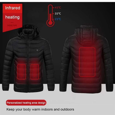 e-Thermal Hooded Jacket