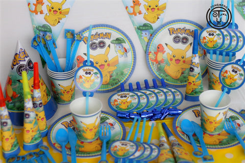 Pokemon GO Pikachu Party Supplies