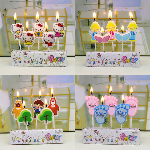 Creative Cartoon Kid's Birthday Candles