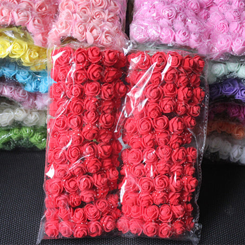 Artificial Mini Foam Roses