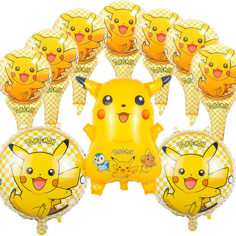 Pokemon Foil Balloons Globos Pikachu 10pcs/lot
