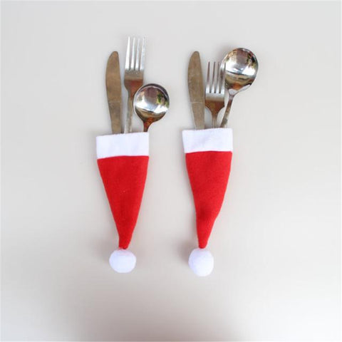 Christmas Hat Decorative Tableware Set