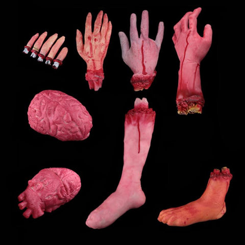 Halloween Horror Props Bloody Body Parts