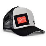 Casquette OG Grey/Black Red Label