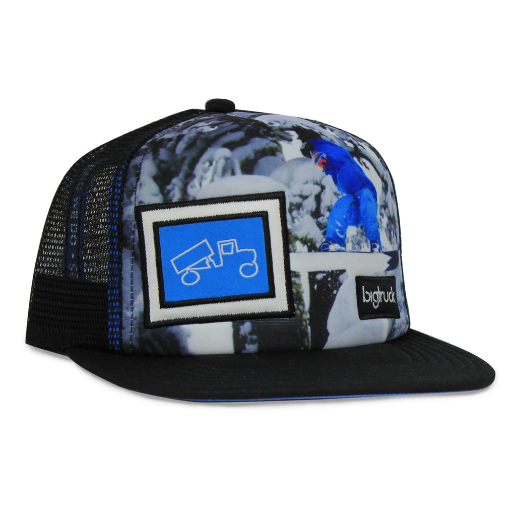 Casquette : kids flat bill trucker hat