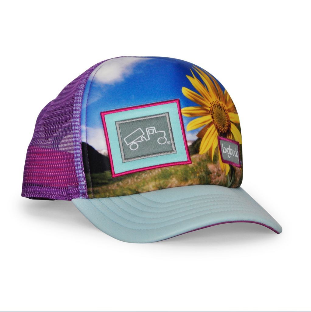 Casquette : Original Kids Toddler Sublimated Flower Power Purple