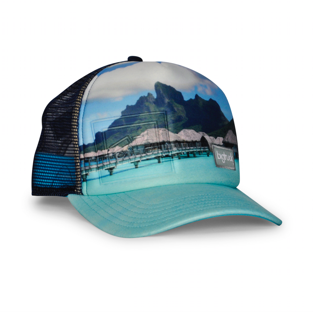 Casquette : Original Sublimated Bali Blue Embossed EMB™