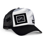 Casquette : Original Sublimated White Black Fresh Tracks