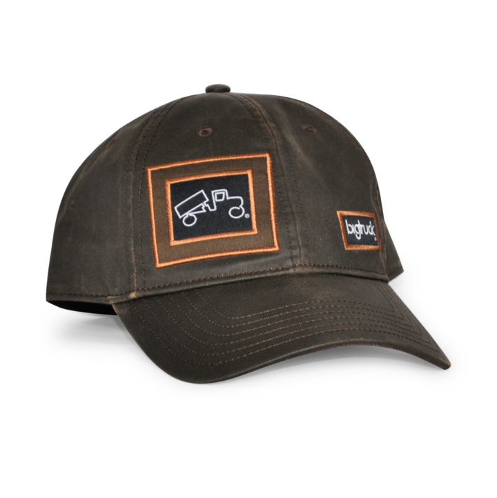 CAP WAX COTTON BROWN