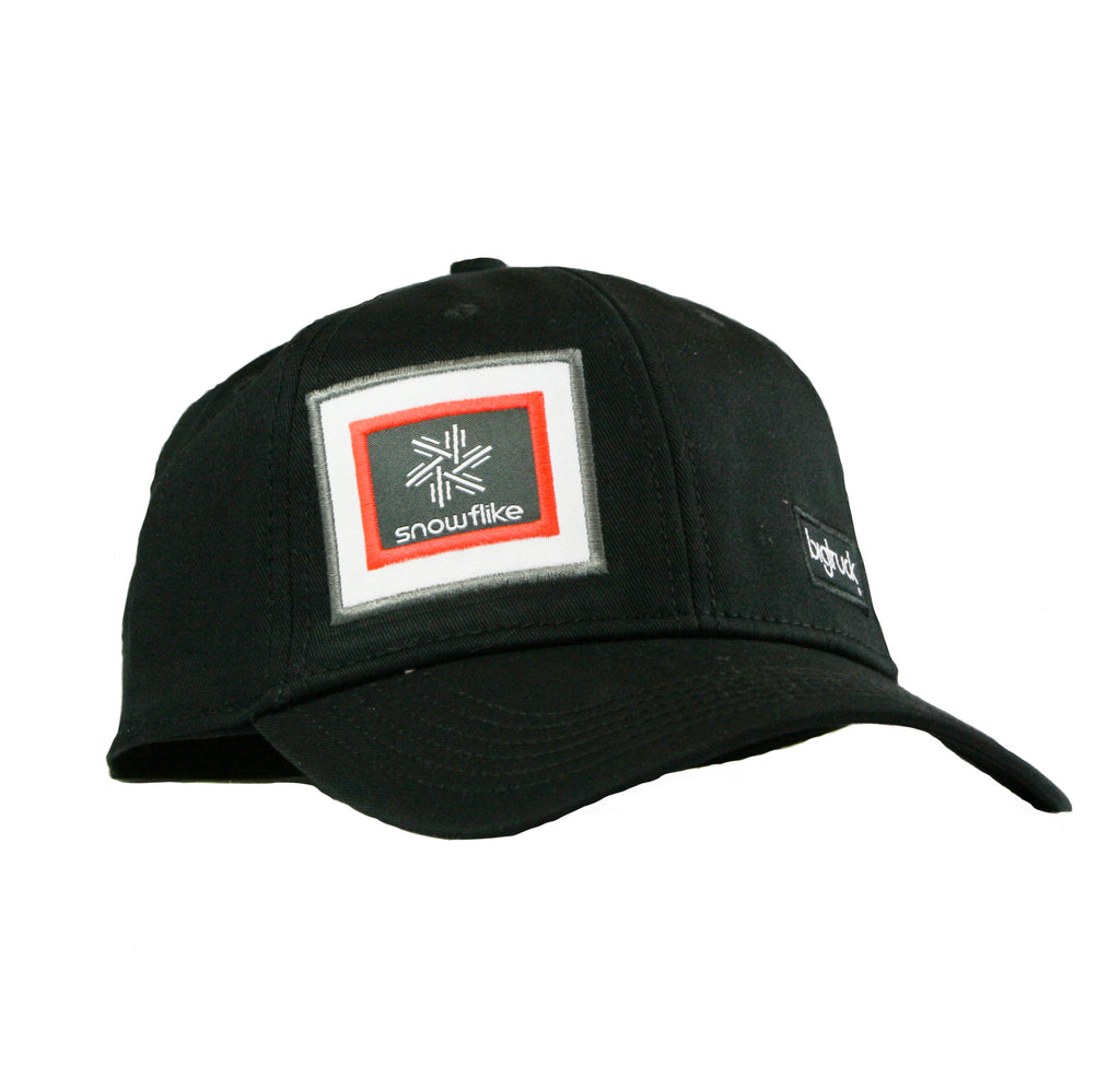 Casquette : Traditional Black Snowflike