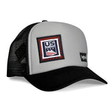 Casquette : Original Grey Black Ussa