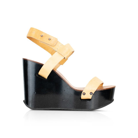 Chloe Wedges - 39.5 - Fashionably Yours