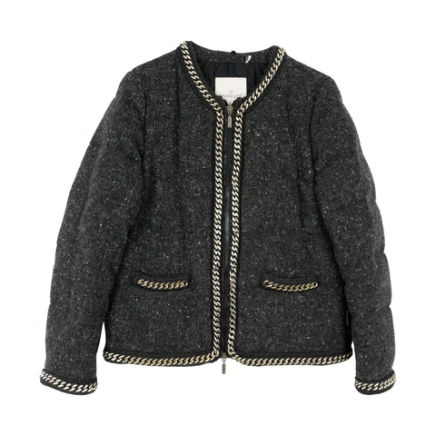 Moncler Wool Puffer - 3 - Fashionably Yours Design Consignment