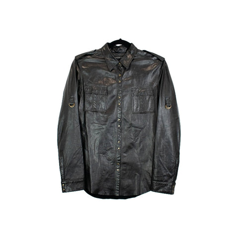 Balmain Leather Top - 38 - Fashionably Yours Design Consignment