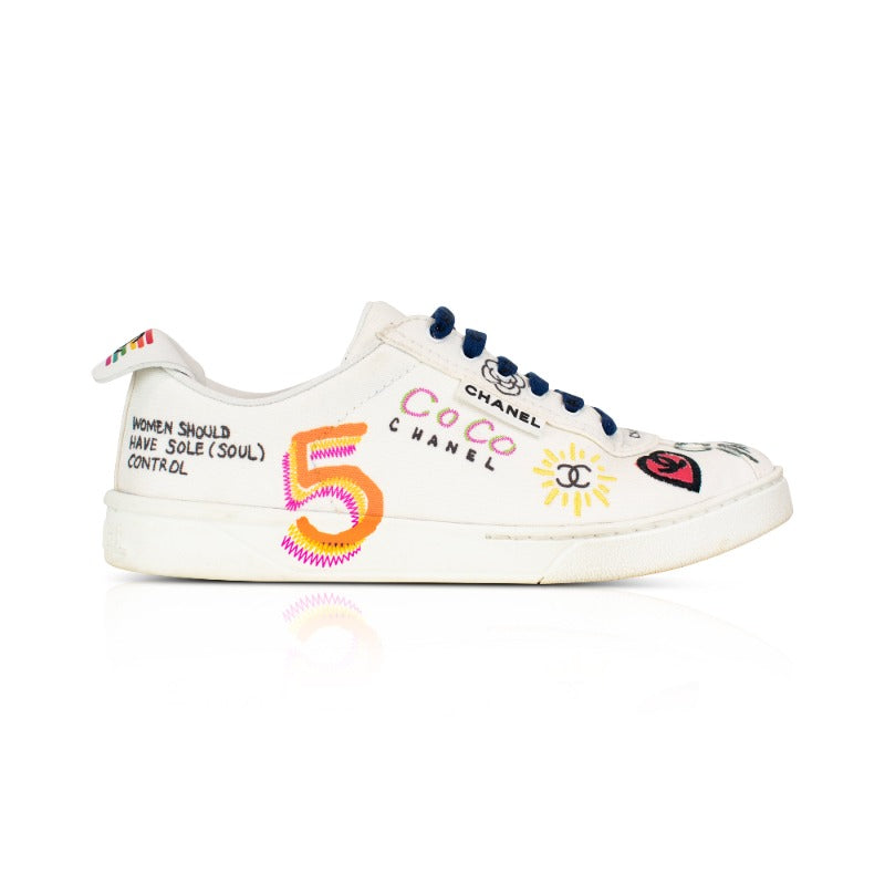 Chanel x Pharrell Sneakers - 38 - Fashionably Yours